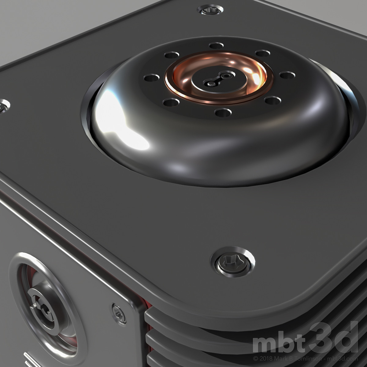 Box X: Top Close up.