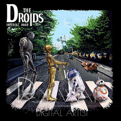 Pawel hudeczek the droids praca male
