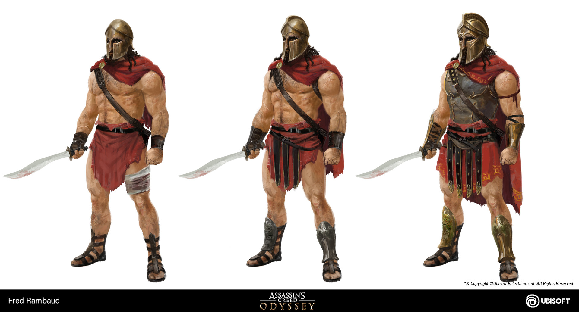 Why Do Odyssey Spartans Look More Like Romans Rather Than Actual