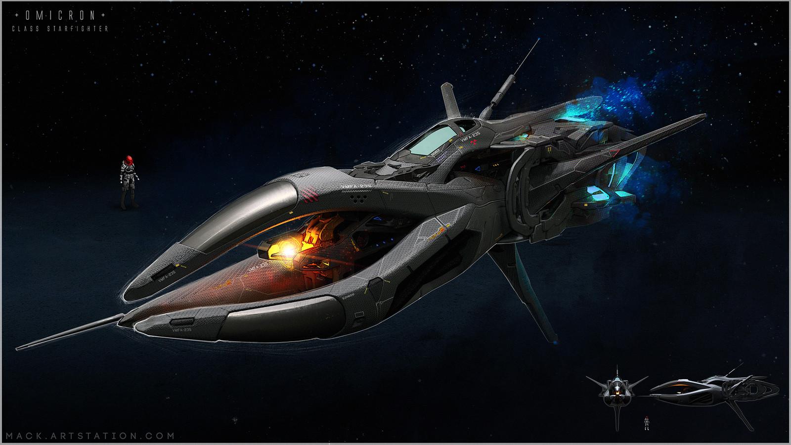 Omicron Starfighter