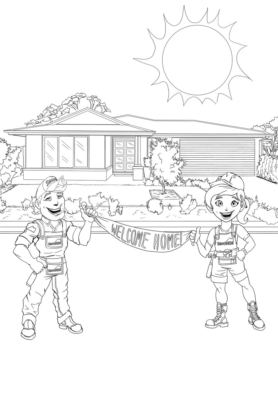Grange wallis colouring in page 04