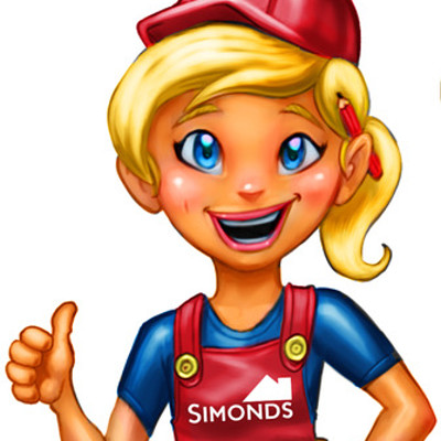 Simonds Homes Mascot Design & Colouring Book