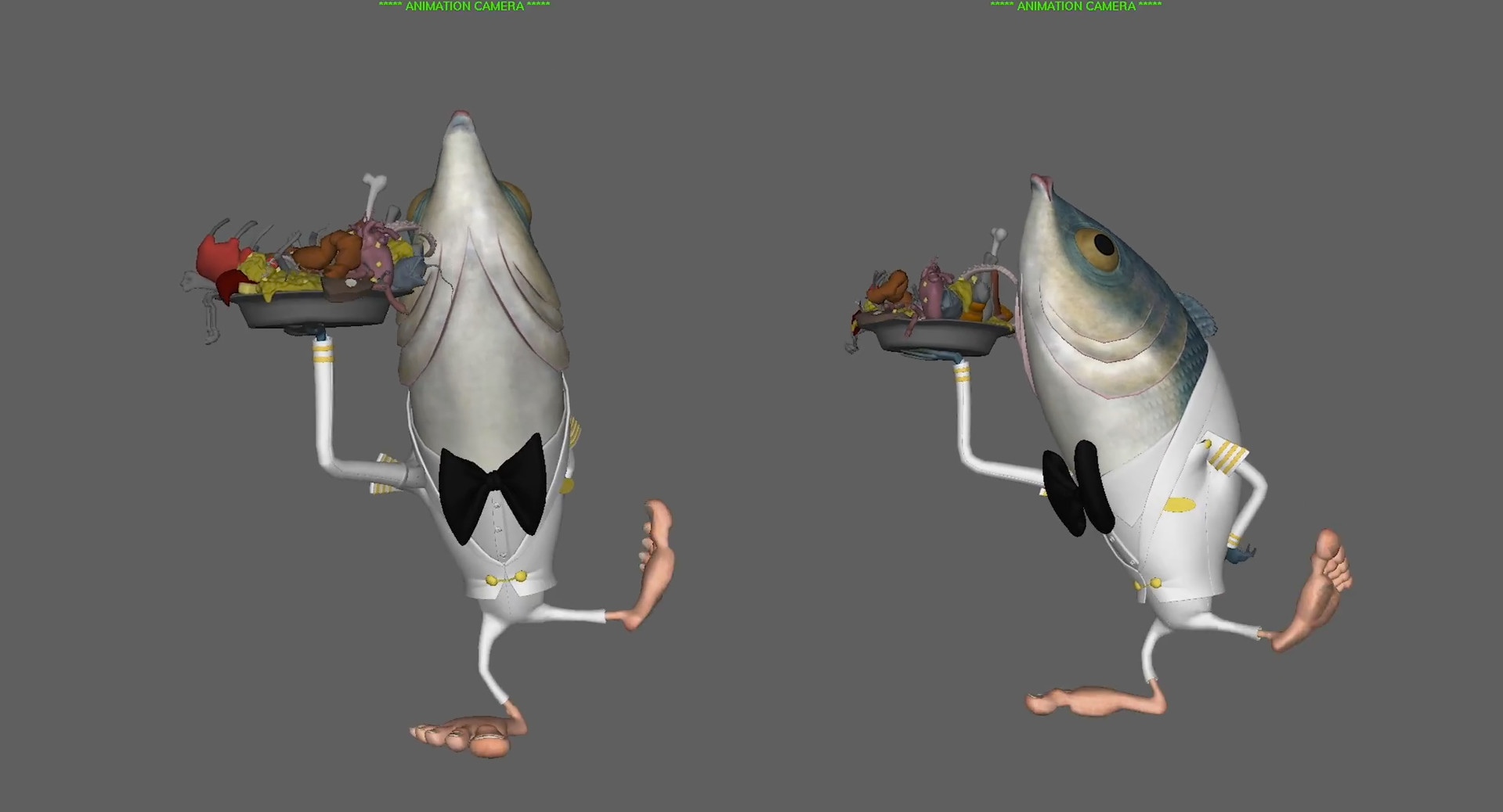 Fishmen - Body Rigging