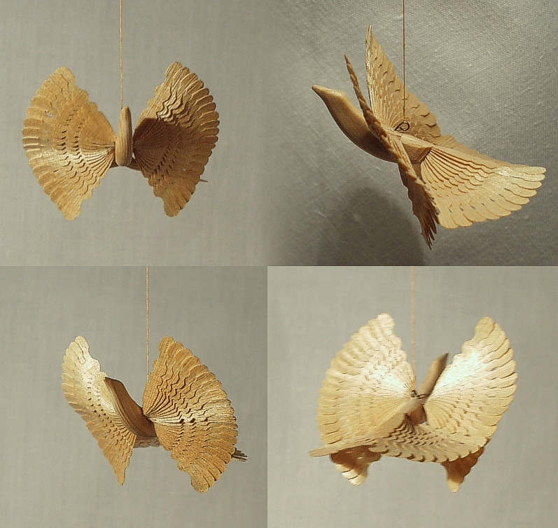 Архангельская щепная птица счастья / Bird of Happiness