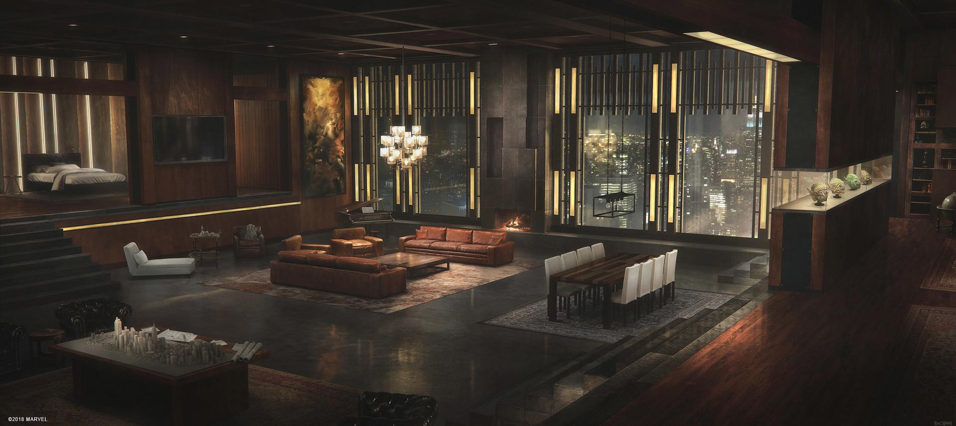 Normans Apartment Interior