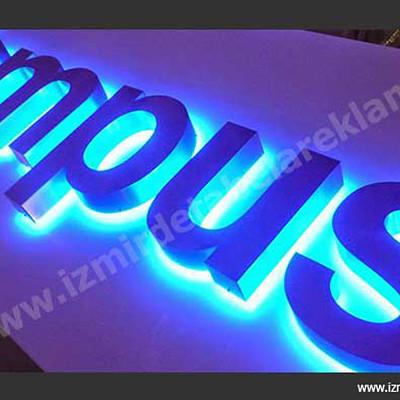 Izmir tabela reklam hizmetleri aluminyum isikli kutu harf tabela