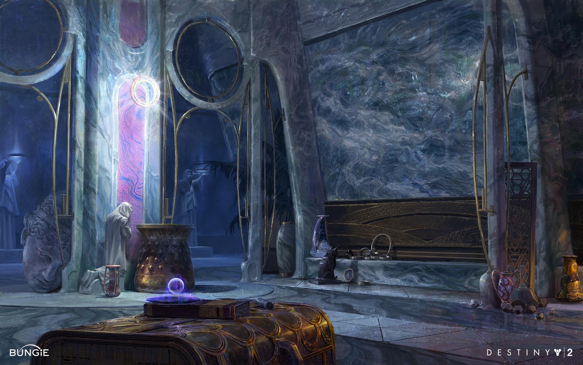 Artstation Destiny 2 Forsaken Dreaming City Interior