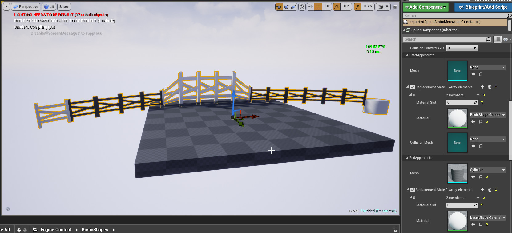 ArtStation - Maya Curve to UE4 Spline Tool , James Miller