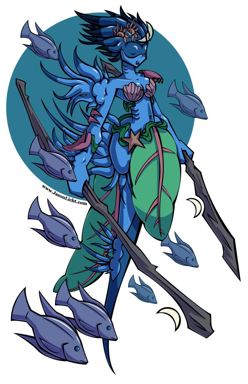 Jason licht mermay druid color