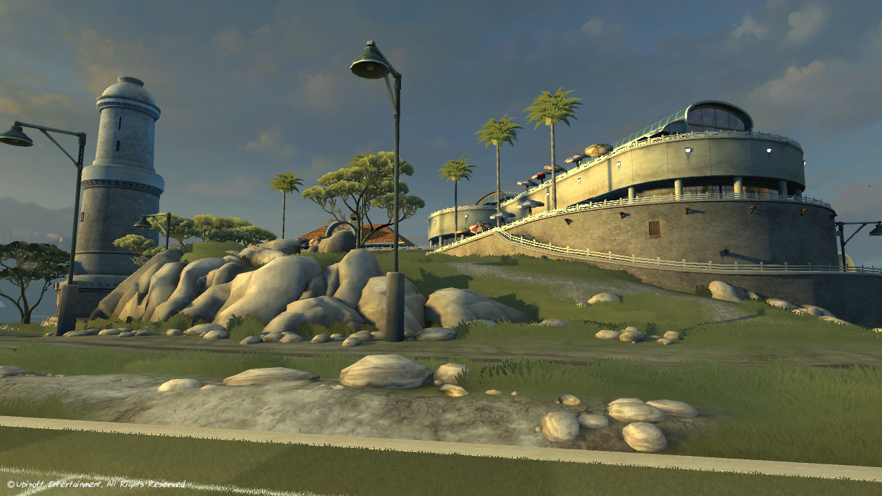 Island Venue (Textures only)