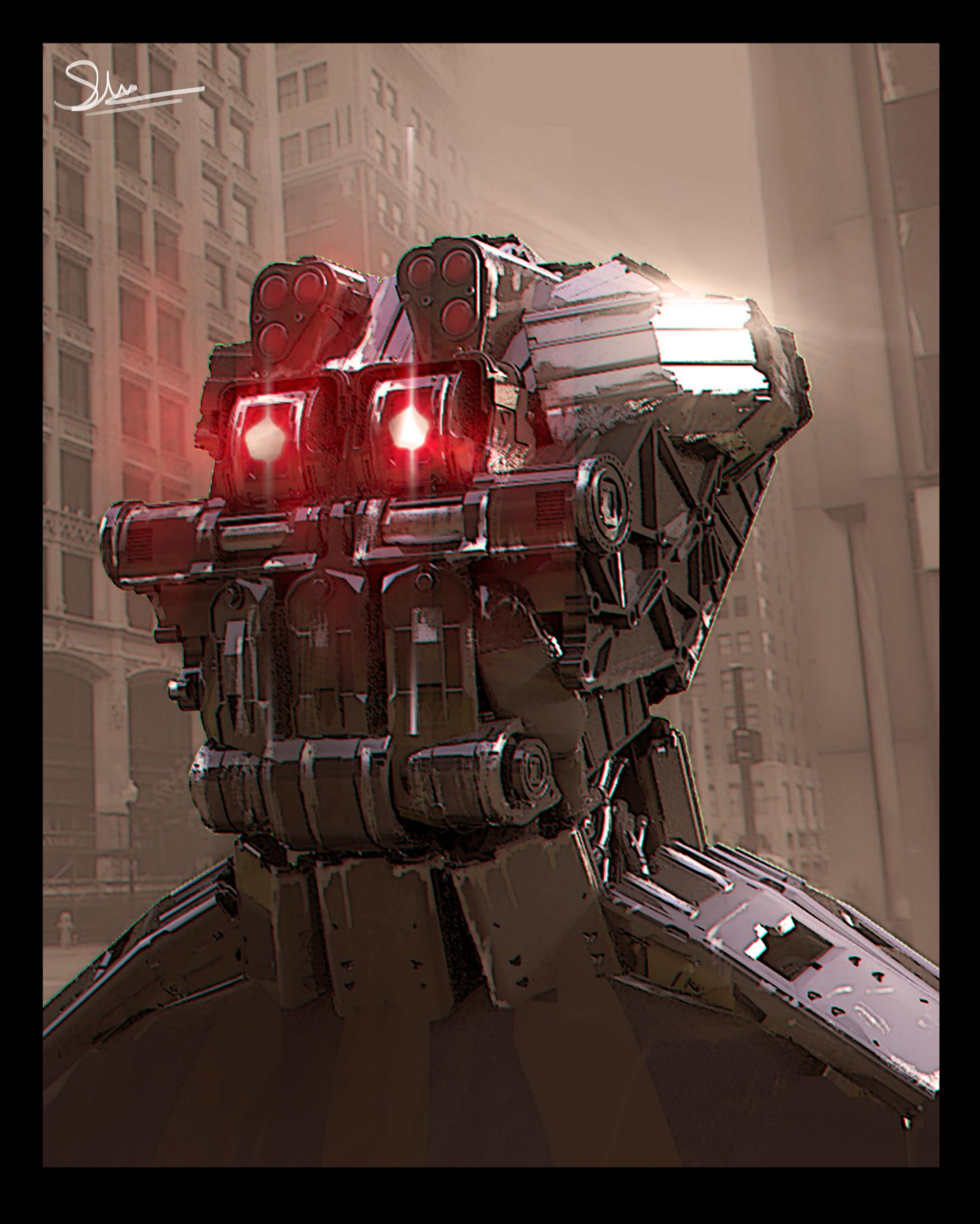 Shwetank shukla robot concept one