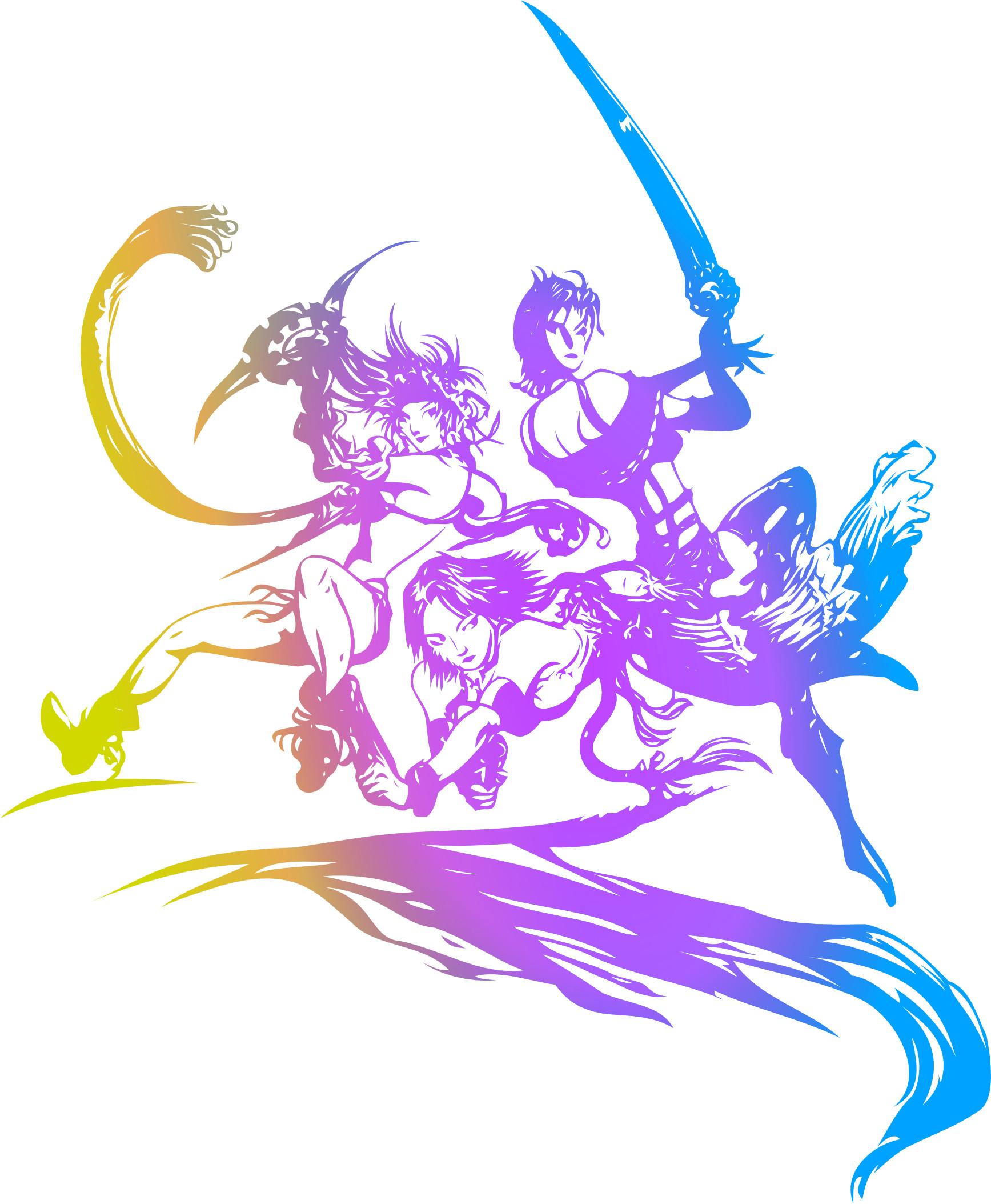Final Fantasy X Character Art