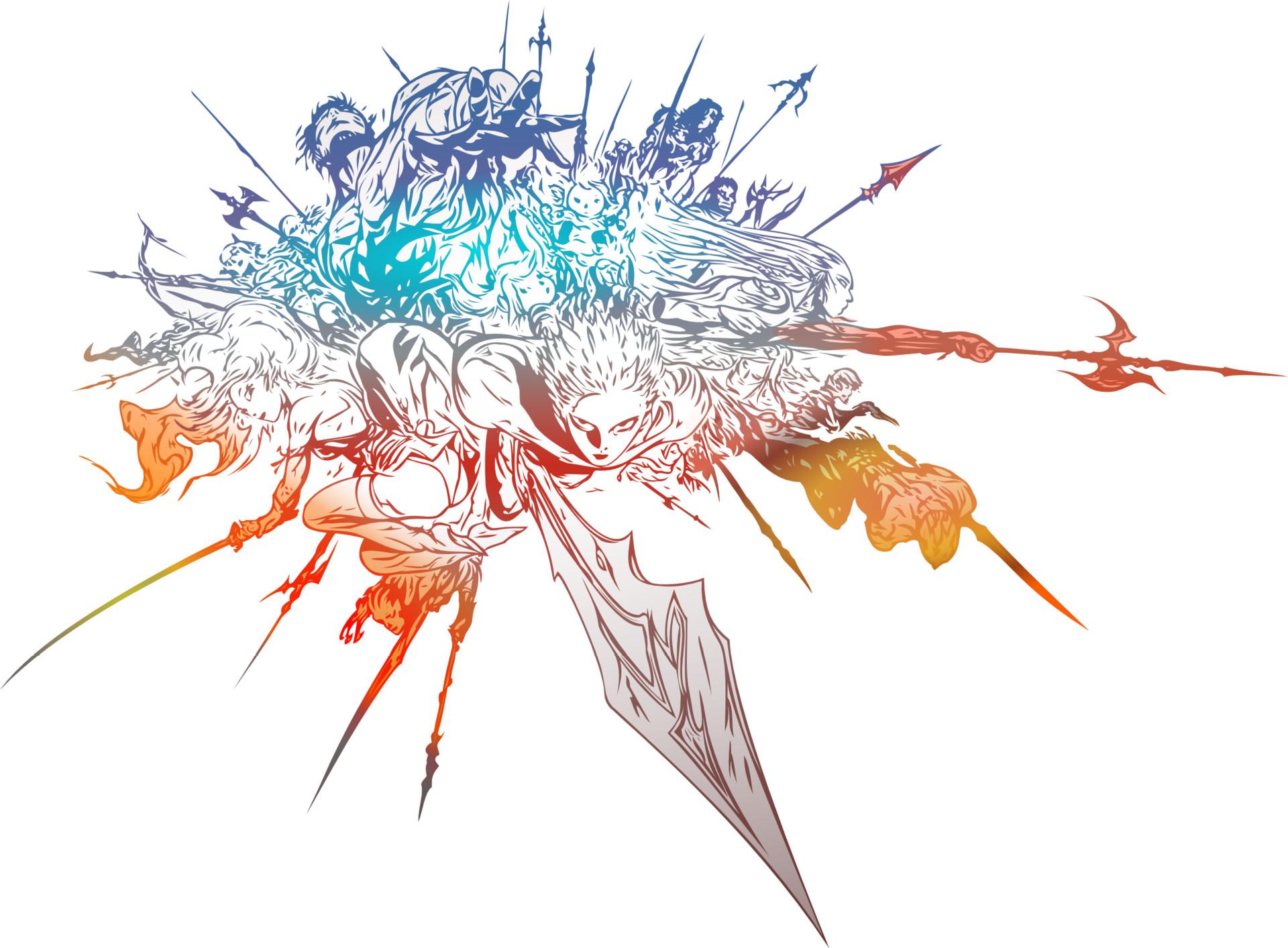 ArtStation - Final Fantasy XIV Vector Logo, Eleanor Wright