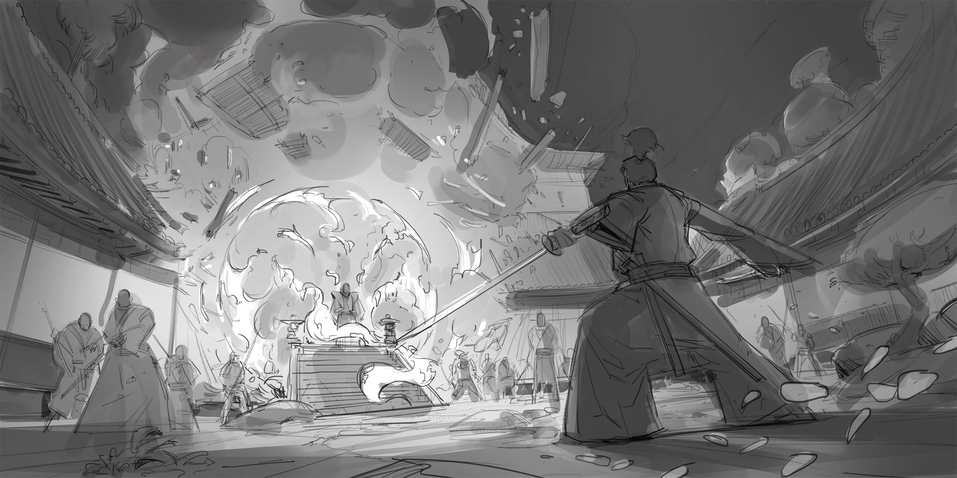 Klaus pillon theshogunate keyframes sketch 004
