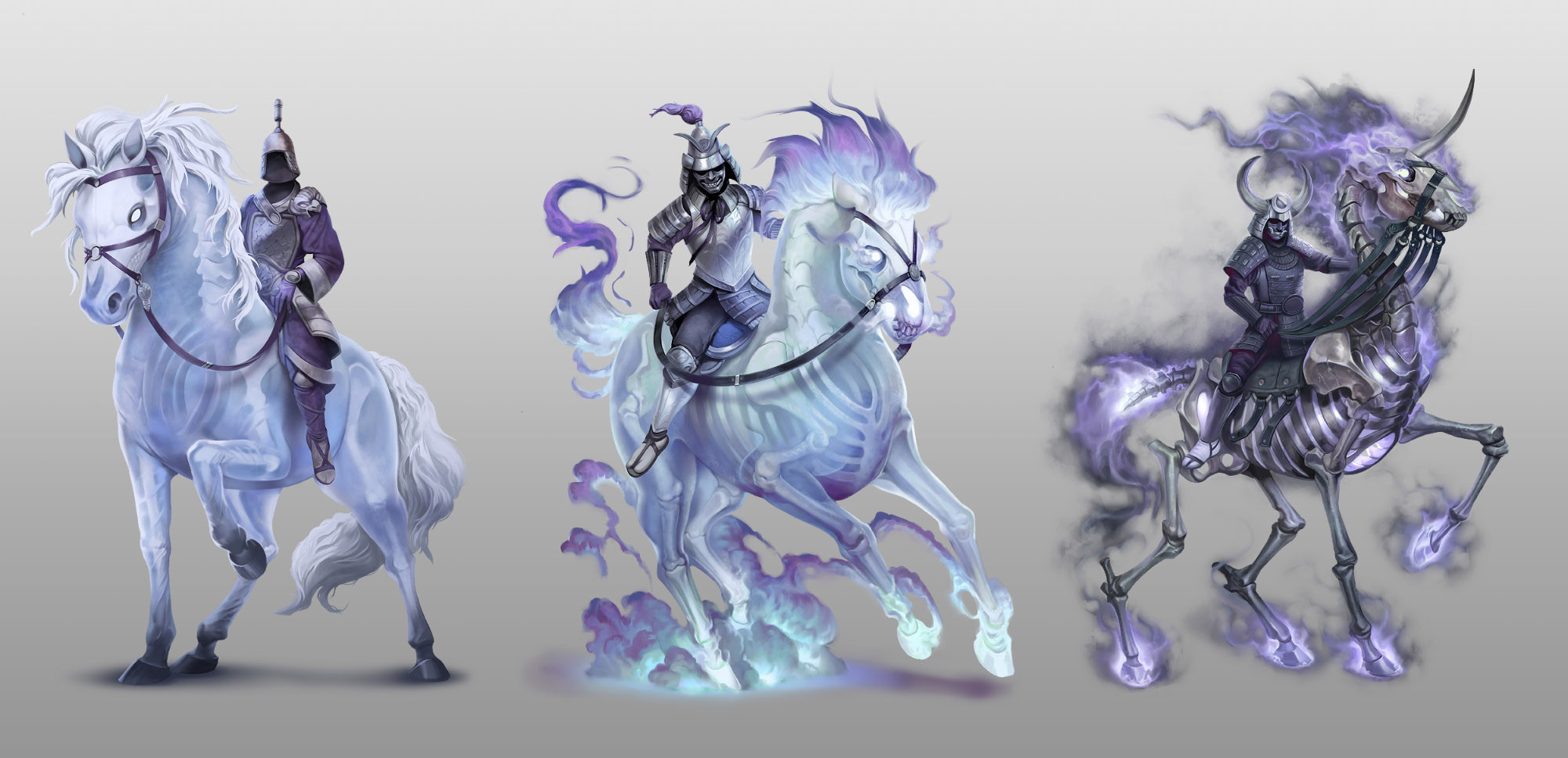 The Ghost Guardian Mounts