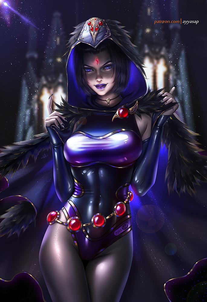 Artstation - Raven, Ayyasap -4480