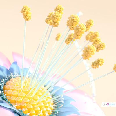 brand flower macro