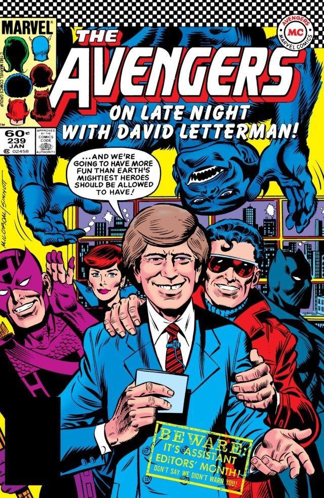 David nakayama avengers vol 1 239