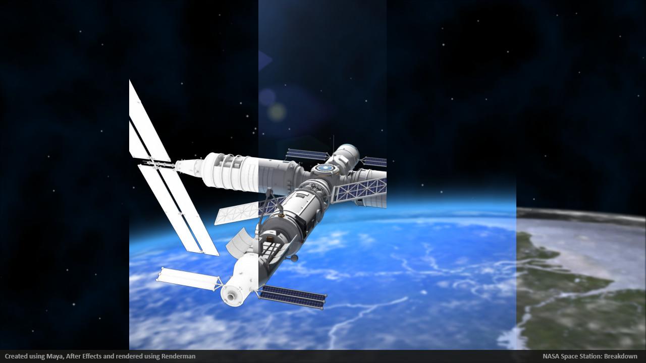 Jeff woodbury space station beakdown