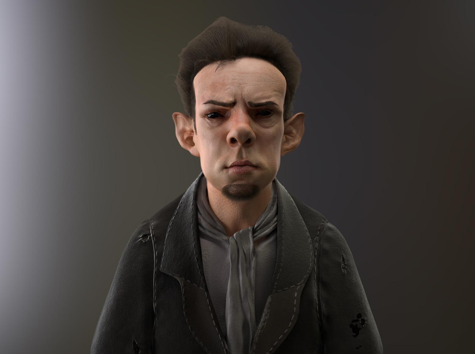 Goblin -concept art of Rob Bliss