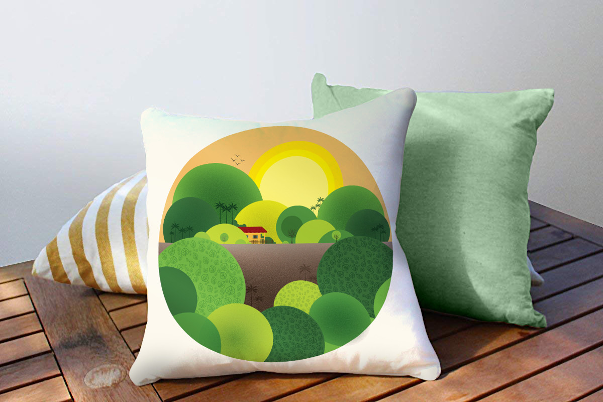 Rajesh r sawant pillow 2 round konkan