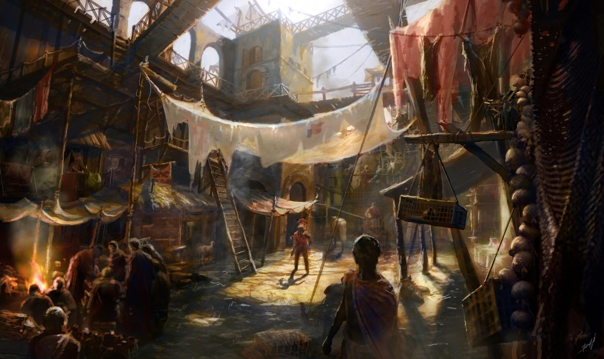 Artstation Concept Art Ryse Son Of Rome Agnes Staudt