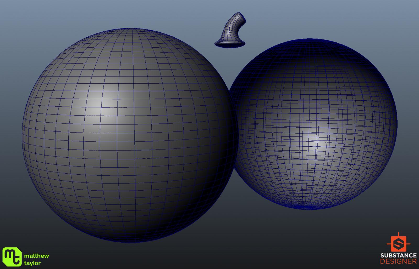 The basic geometry used.