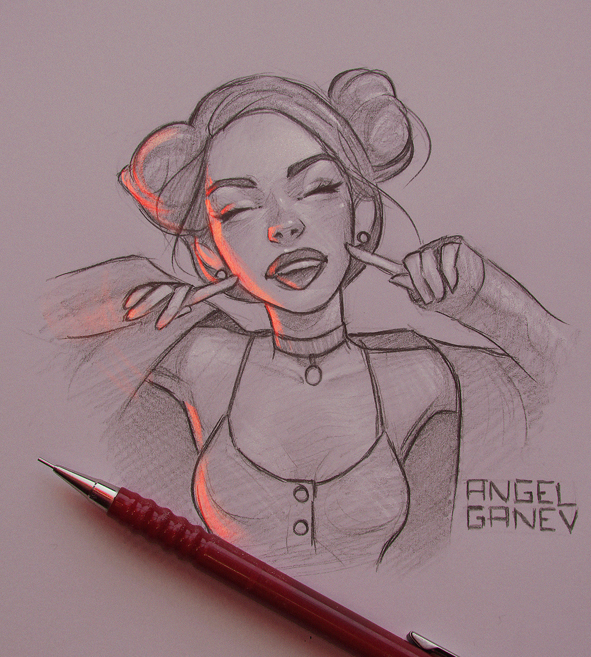 Angel ganev angelganev sketch 7