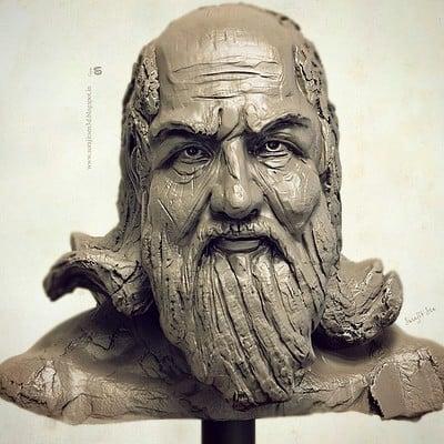 Surajit sen sculptor quick sculpt study surajitsen 26102018 ins