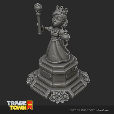 Zuzana bubenova queenstatue