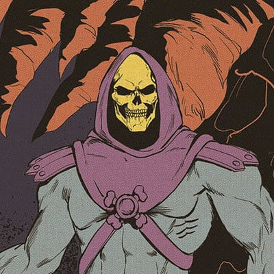 Pablo romero skeletor color l