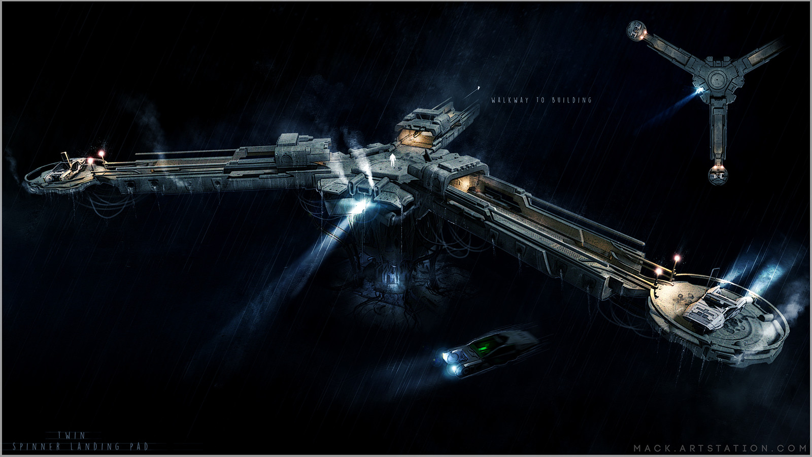 Blade Runner Landing Pad