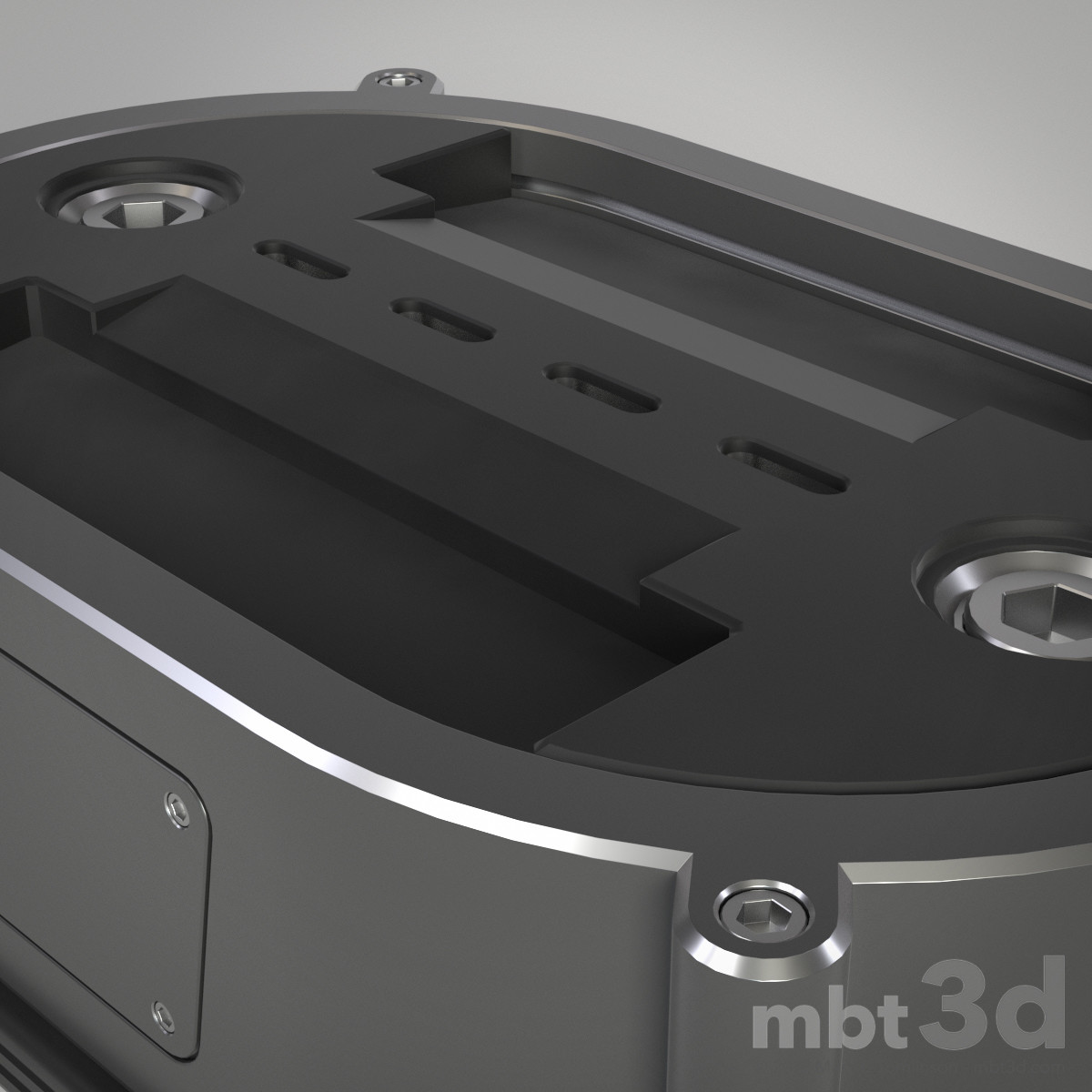 Box XIII: Hard surface Boolean MODO exercise