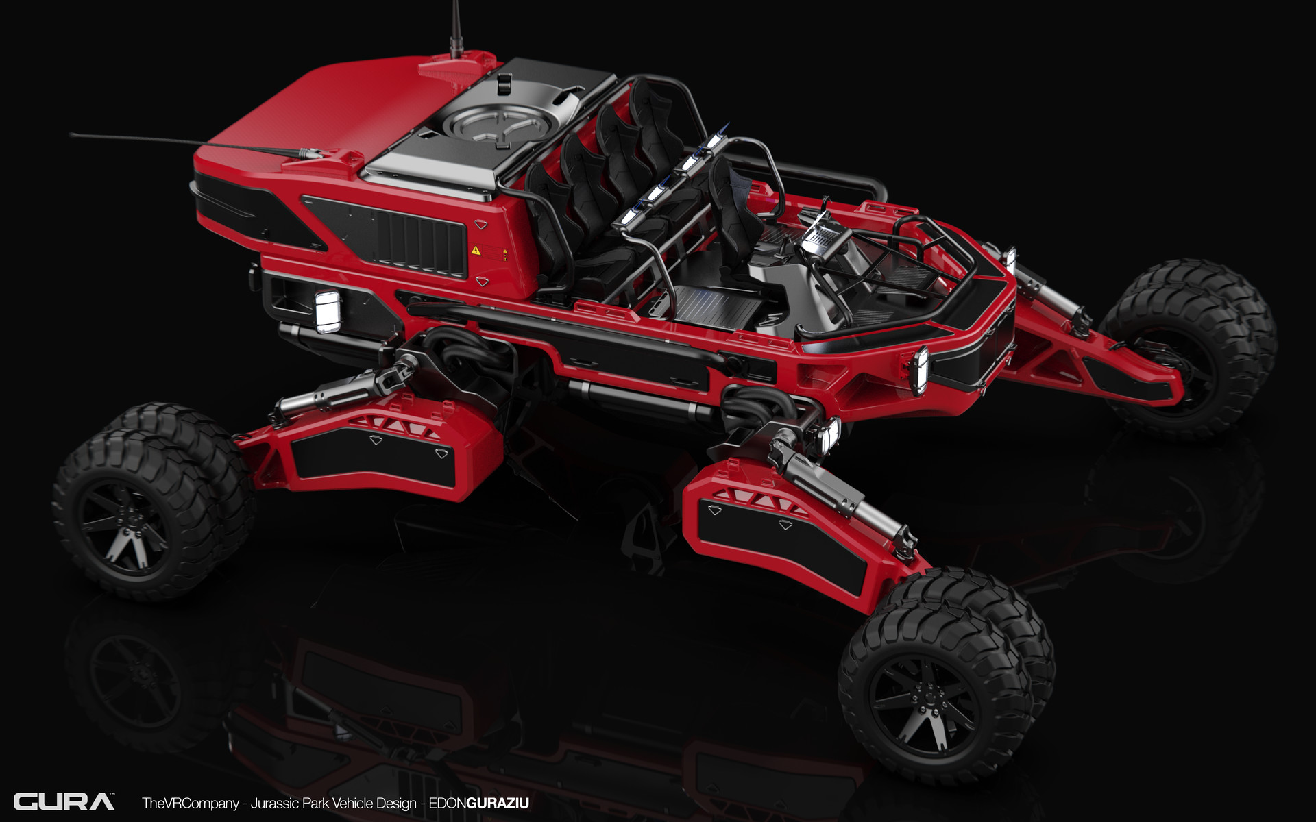 Edon guraziu vr vehicle design