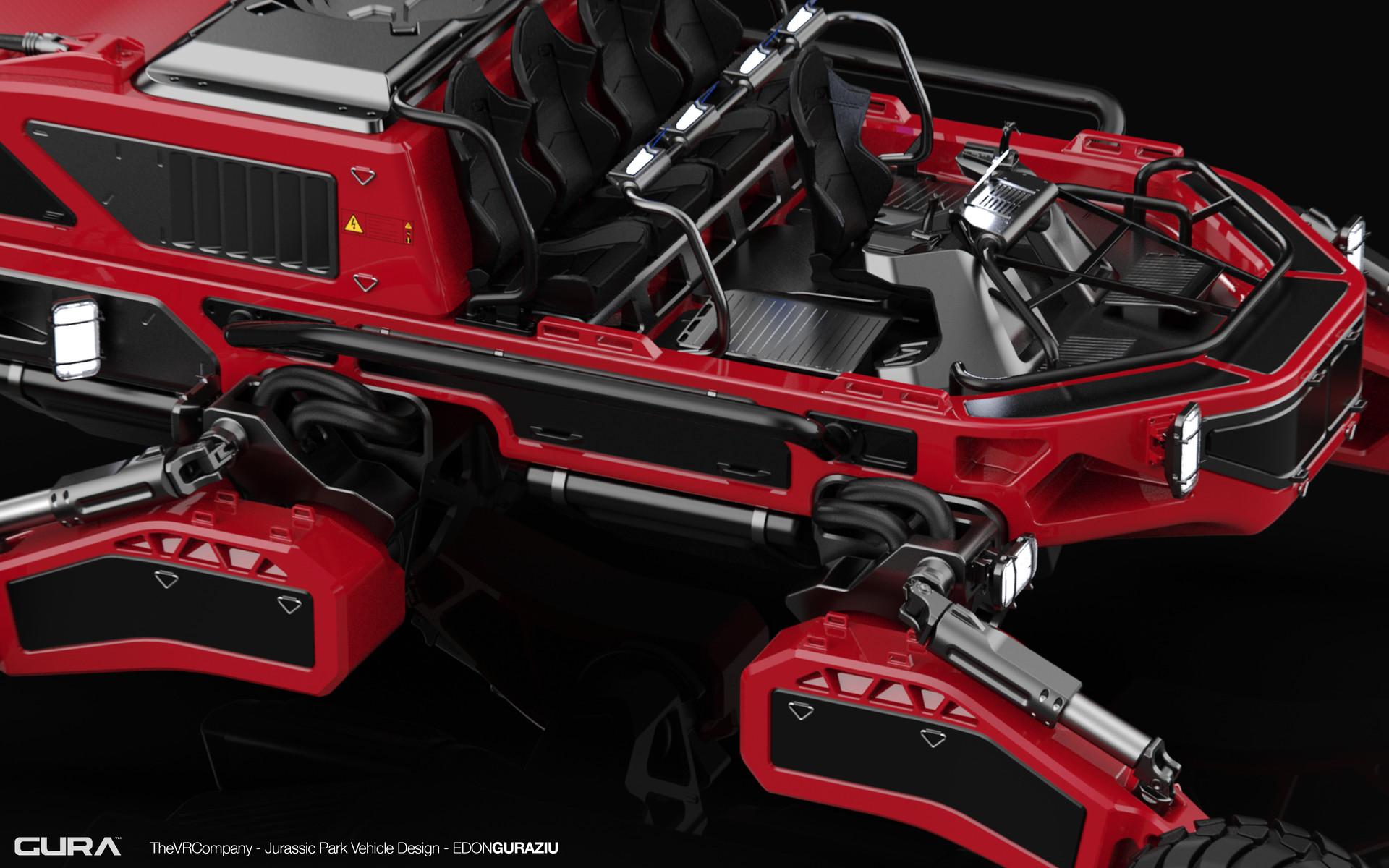 Edon guraziu vr vehicle design closeup