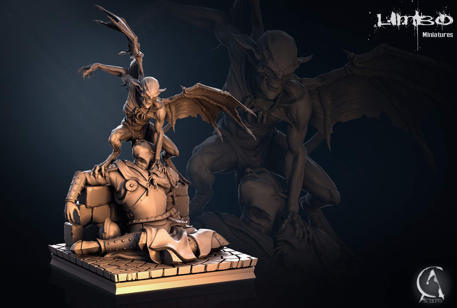Evil Imp Fantasy Art