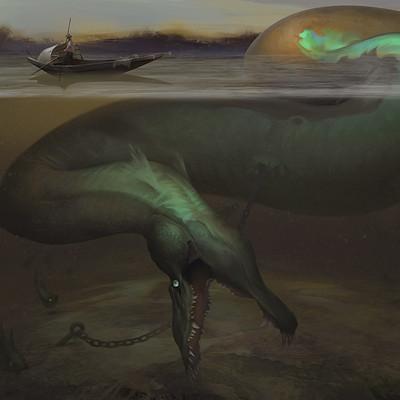 Reiko gross illustration lalanda watersnake