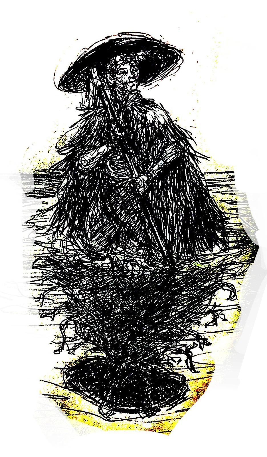 Ninja Ink Sketch