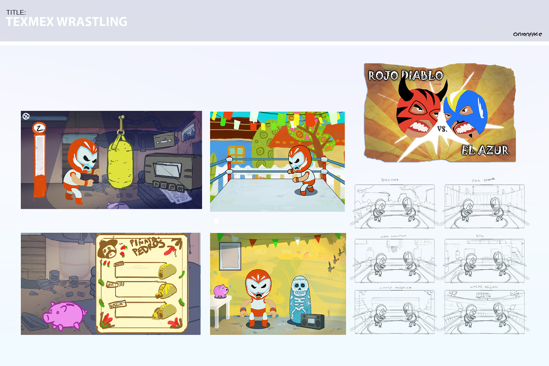 West clendinning game design wrestling