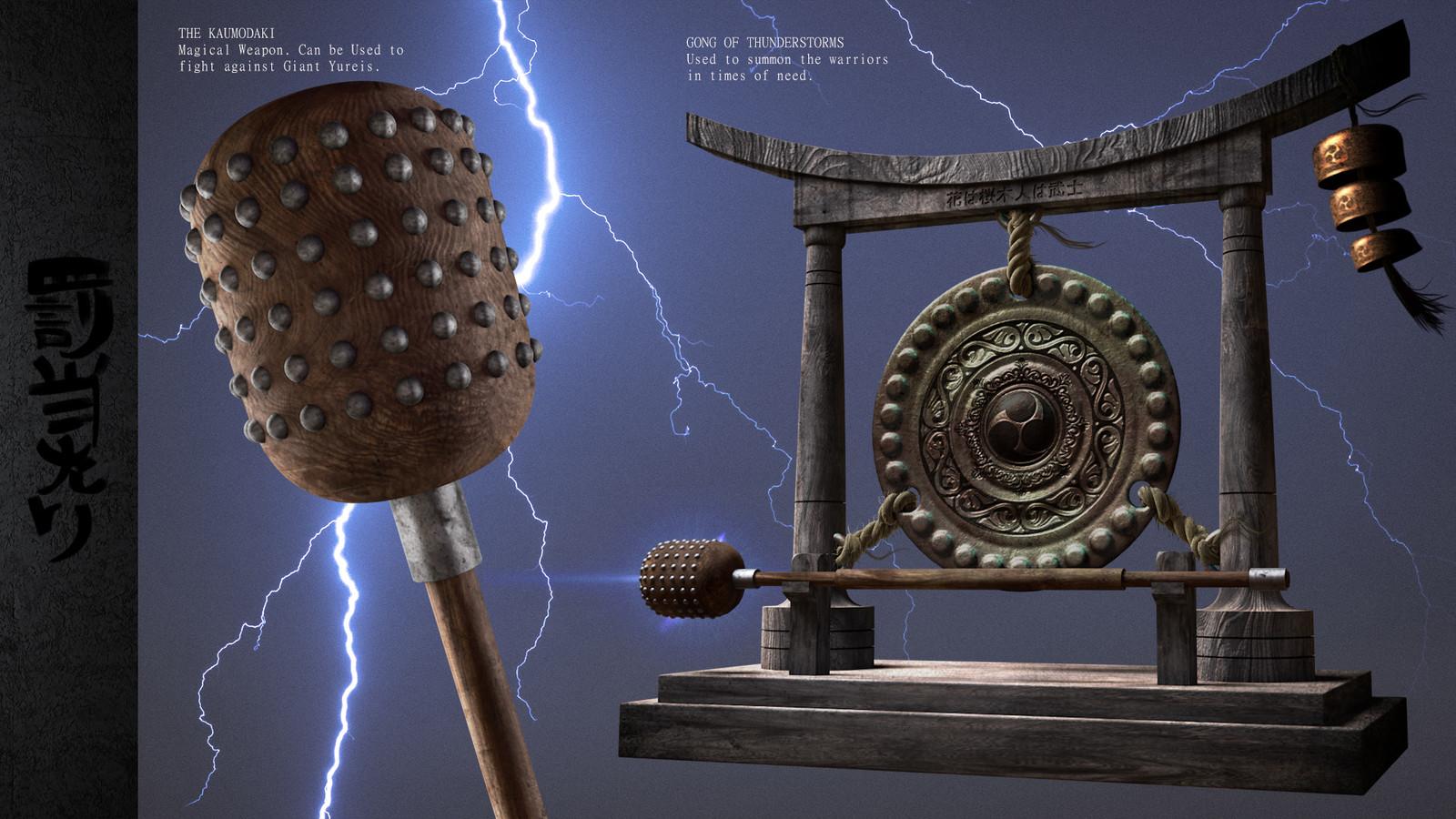The StormCaller Gong