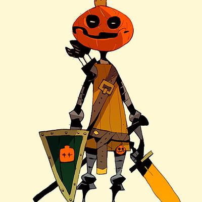 Satoshi matsuura 2018 10 04 pumpkin knight s
