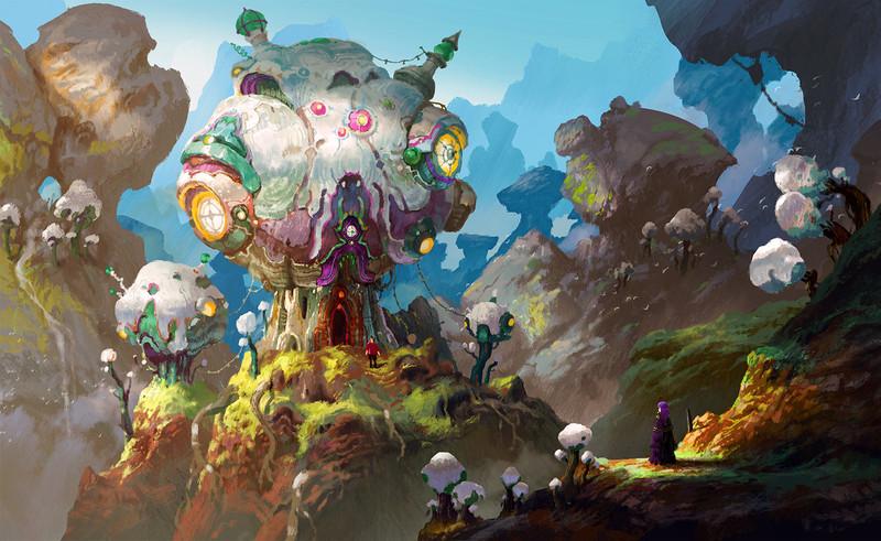 Organic Machine Planet