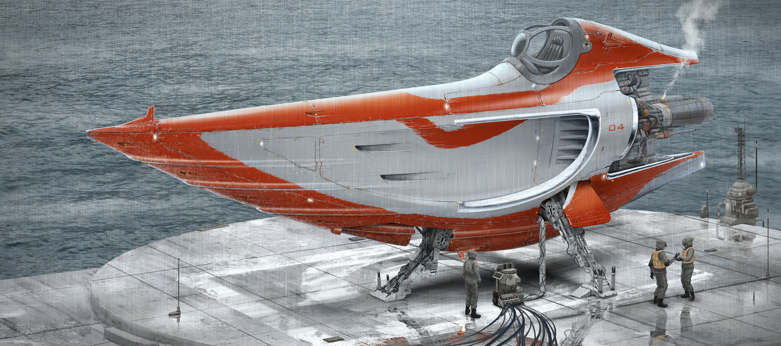 Spaceship Painting .1