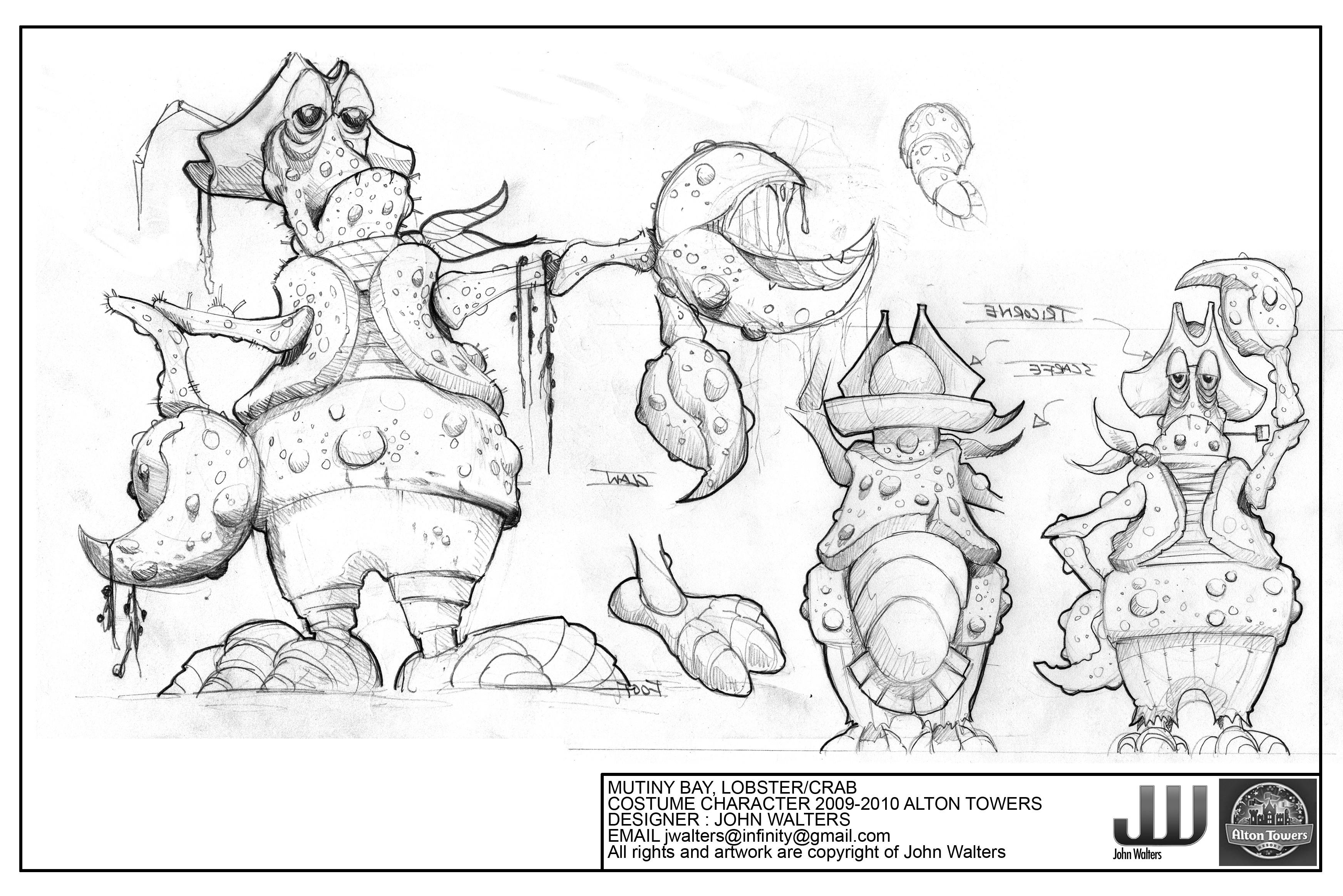 Initial Lobster Design/Idea