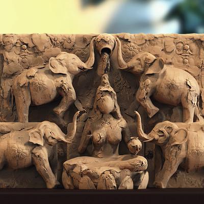 Surajit sen gajalaxmi rough sculpt surajit sen 28102018