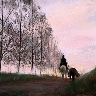 Francis boncales horse trailpost