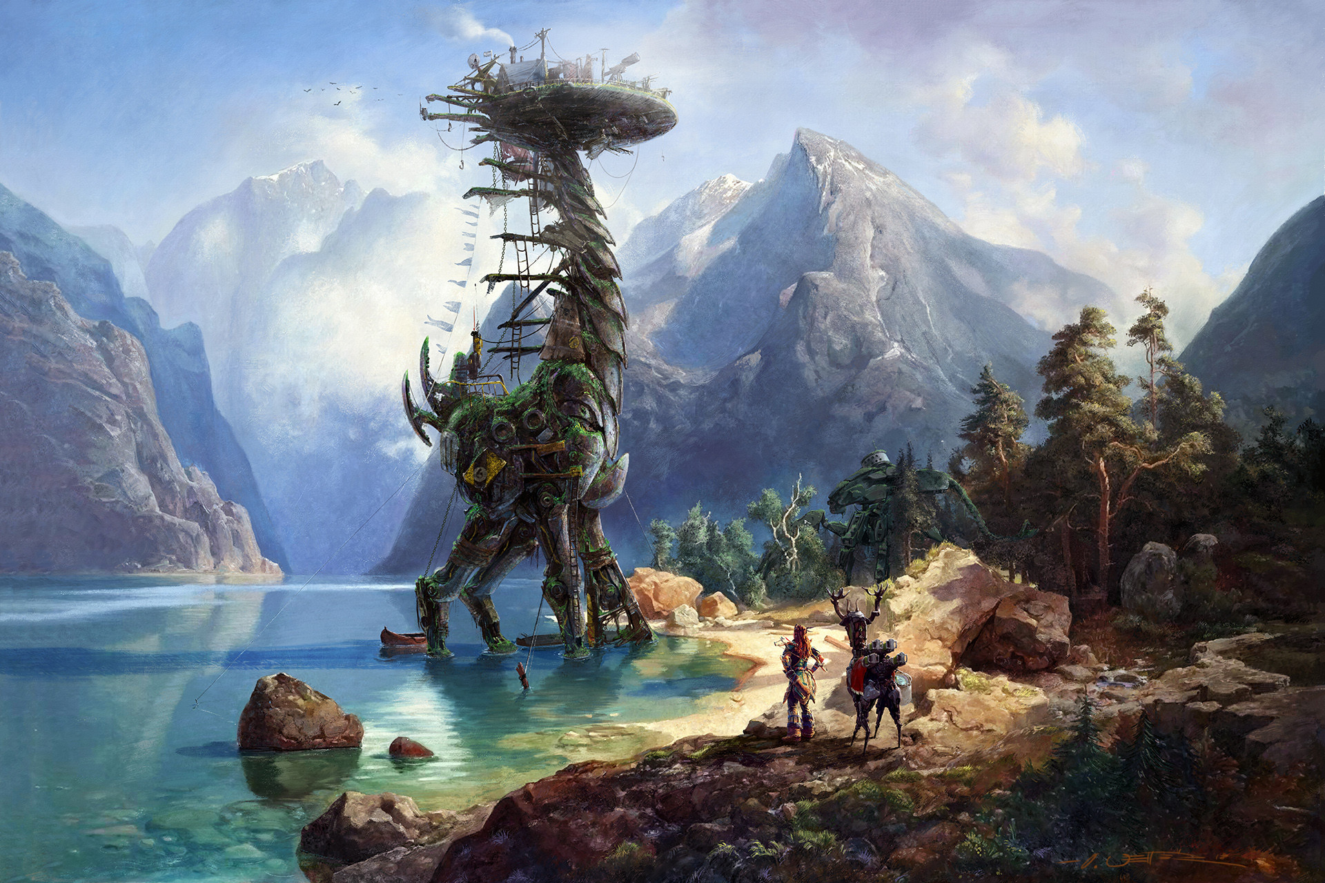 Oliver wetter hzd coming home wall