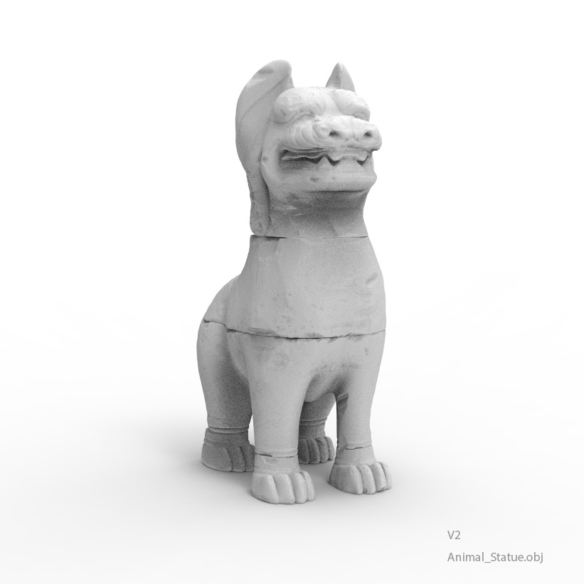 Anton tenitsky animal statue v2