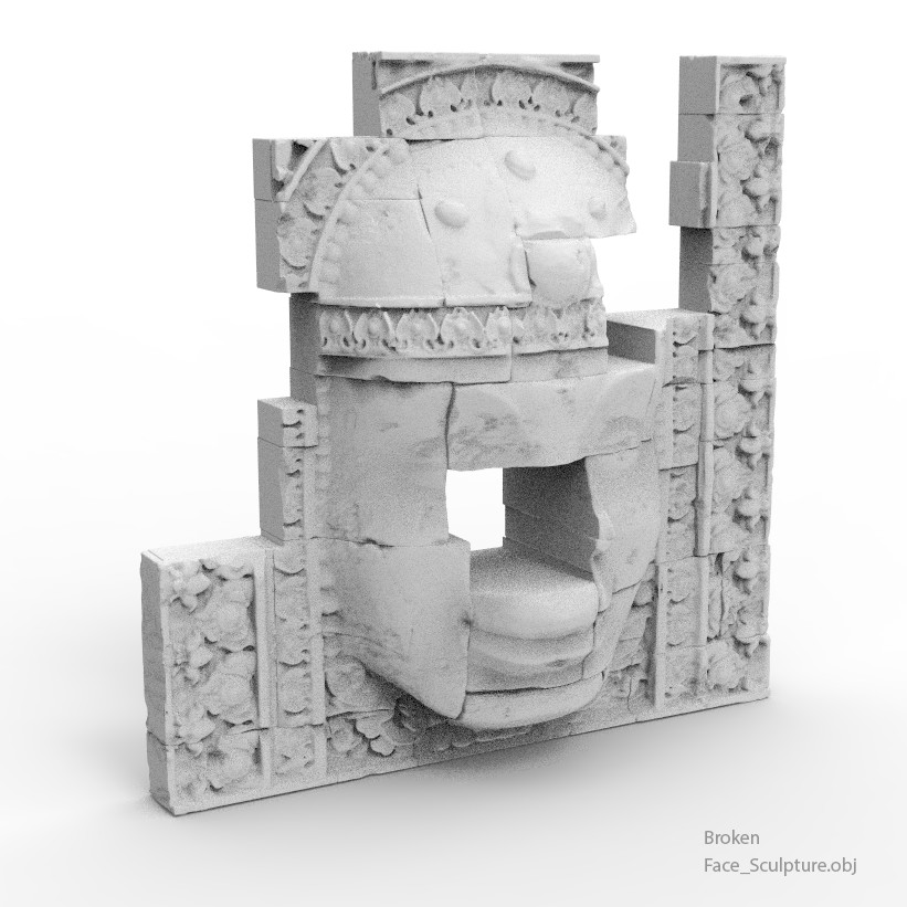Some of the high-poly assets https://www.artstation.com/tenitsky/store/VPK/ancient-temple-ruins