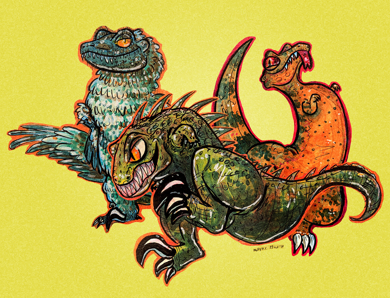 Raptor Characters